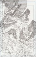 """""""WH"""" Cover Pencils 2 by KurtBelcher1"""