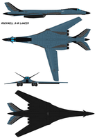 Rockwell B-1R Lancer by bagera3005