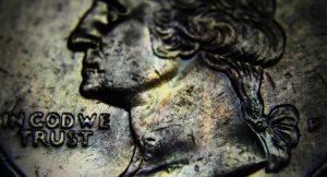 Random Macro Shot of a quarter by PAlisauskas