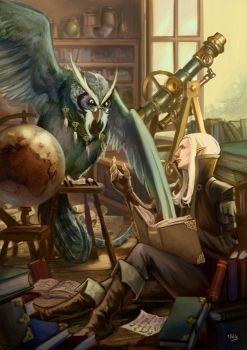Owl Tutor by lockjaw