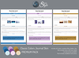 Classic Colors Skin ~ Premium Content by ClearStyle