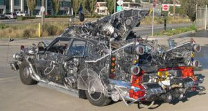 space junk - art car 2 by rotnhell