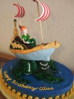 Peter Pan Cake by jwitchy65