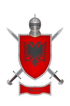 Shield Albania 1 by WS-Clave