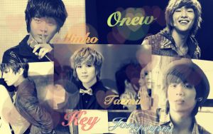 SHINee Members by crystalSHINee4evr