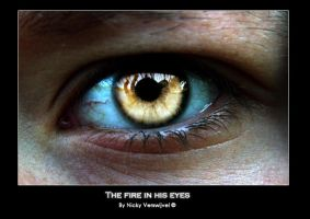 The fire in his eyes by acheliah
