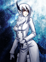 Absol Gijinka by Crescentia-Fortuna