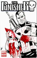 Punisher sketch cover 2 by eltoromuerto