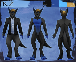 Ref Sheet Comish - KZ by TwilightSaint