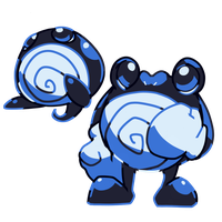 Poliwag and Poliwhirl Prototypes by MBLOCK