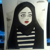 A Girl Walks Home Alone at Night by ChibiCelina