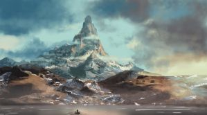 The Lonely Mountain by willroberts04