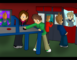 AT: In The Arcade by PolisBil