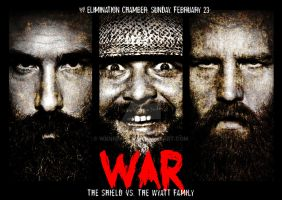 War poster (The Wyatt Family version) by WKneeshaw