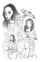 firefly pencils by natelovett