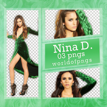 Pack png 194 - Nina Dobrev by worldofpngs