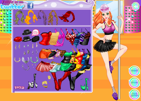 Enchanting Pole Dancer Dress up Game by willbeyou