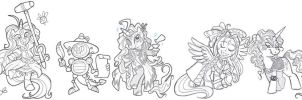 Oh My Ponies by shuffle001