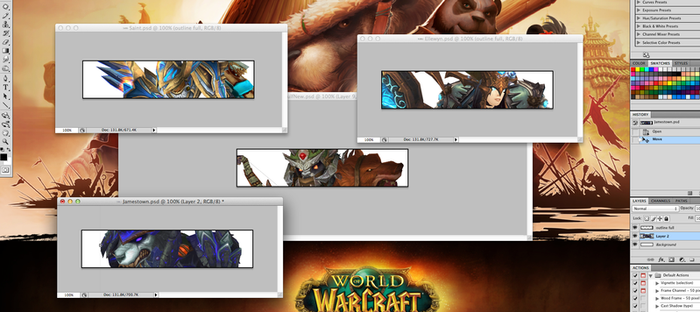 Warcraft Signatures - WIP by Roscofox
