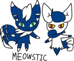 Meowstic by tanlisette