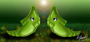 Metapod Speedpaint by SonARTic