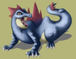feraligatr, baby, yeaaah by ThermalFaerie