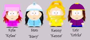 GenderBent: South Park Version by Kyle-Fan-Girl