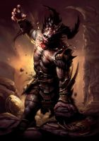 Dragon Age Ogre by Mike-Sass