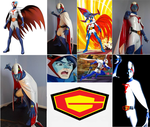 Gatchaman cosplay collage by IronCobraAM