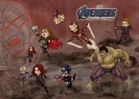 Jean Kid Avengers Age of Ultron by JeanSinclairArts