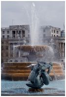 Trafalgar Fountain - dxd by dxd