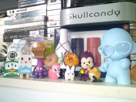 Vinyl Toys Collection by SlidingWingz