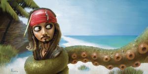 Jack Sparrow by alonsopf