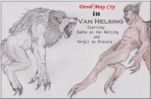 Devil May Cry in Van Helsing by DanteVergilLoverAR