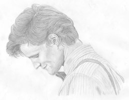 The Eleventh Doctor in Profile by swfan444