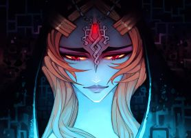 Twilight Princess: Midna by e-hima