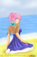 Beach Time by Happy-Nyan