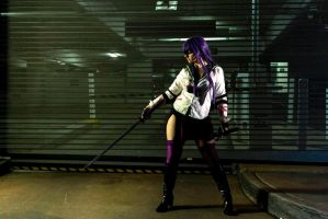 The Warrior in the Alley by restlessnocturne