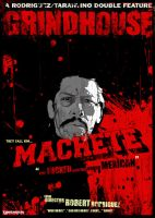 GRINDHOUSE - MACHETE by Metr0polis