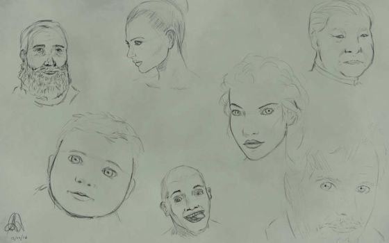Face exercise by Lazenzerk