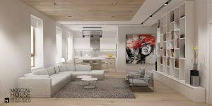 Moscow House Living room by Ozhan Hazirlar by ozhan