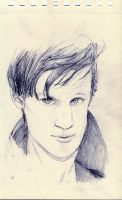 Matt Smith by Feliks-Grell