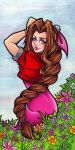 Aeris Gainsborough by BlueUndine