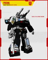 AUTOBOT PROWL by F-for-feasant-design