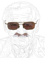 Stanlee Pen work 1 by daylover1313