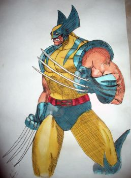WOLVERINE by Omacahtl