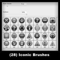28 - 3D Iconic Brushes by psologist