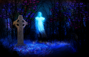 Premade background 33 - Tomb by lifeblue