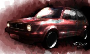 VW Golf 1 by schoondesign
