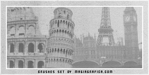 cities brushes by Magiagrafica